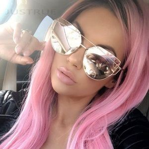 Accessories - Rose Gold Reflective Mirror Sunglasses